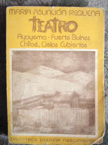 teatro maría asunción requena nascimento 1979