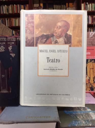 teatro, miguel ángel asturias