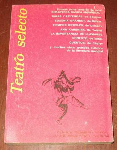 teatro selecto sofocles shakespeare o´neill - 3 obras en 1
