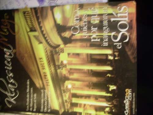 teatro solis- klasicaa.mag nº1 abril 2005