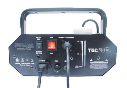 tecfog  maquina de humo fractus led + efecto luz dj