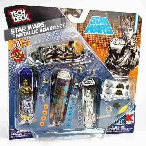 tech deck cuatro skate boards tabla accesorios star wars x 2