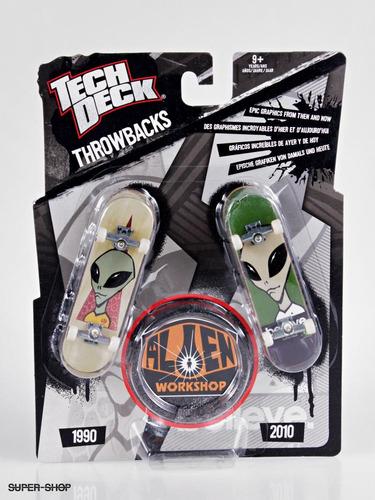 tech deck fingerboard alien workshop throwbacks skate96 mm