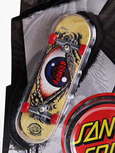 tech deck fingerboard skate santa cruz throwbacks96mm