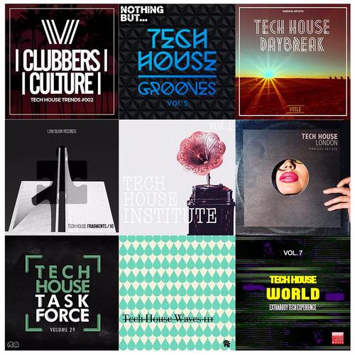 tech house 2.5 ( g b ) 18 hrs coleccion digital original
