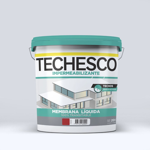 techesco membrana liquida 20 kilos colores transitable mm