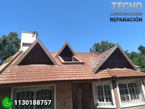 techista contrución y reparación tel. 1130188757 techo