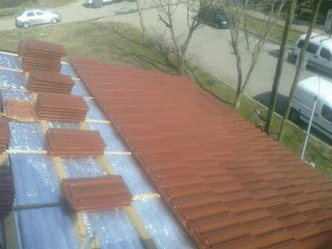 techista zona norte techos de chapa, teja, pergola. garantia