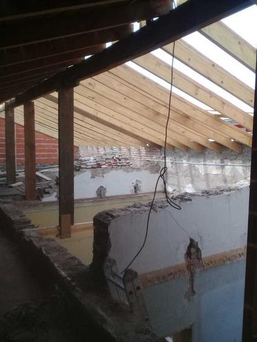 techistas garantía techos tejas chapas galpones reparaciones