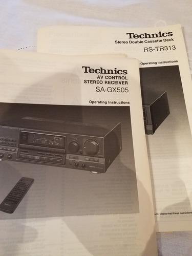 technics equipo completo de audio