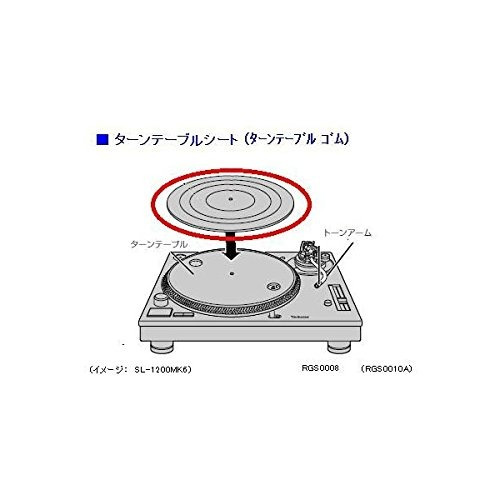 technics rgs0010a girar la hoja de tabla panasonic piezas...