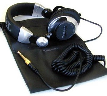 technics rp dj 1210 audifonos profesionales dj made in japan