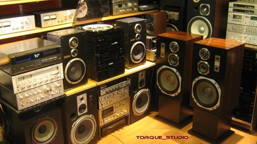 technics sb-l30 9 pulgadas 60+60 watts japan