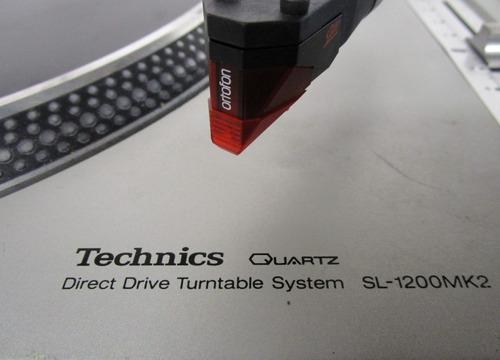 technics sl-1200mk2 - 2 unidades