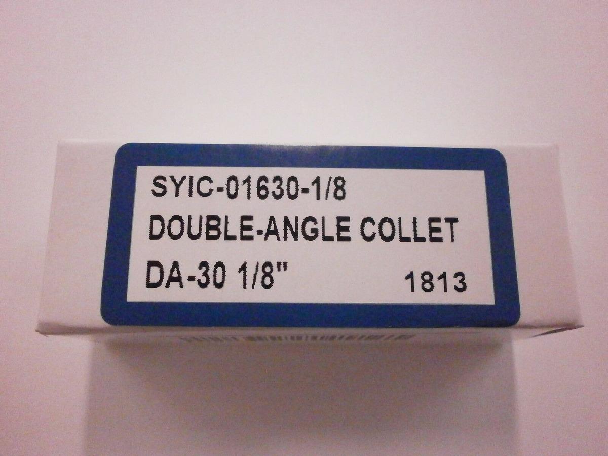 """DA300 01630-1//8 TECHNIKS DA 300 PRECISION COLLET 1//8/"""" DOUBLE ANGLE"""