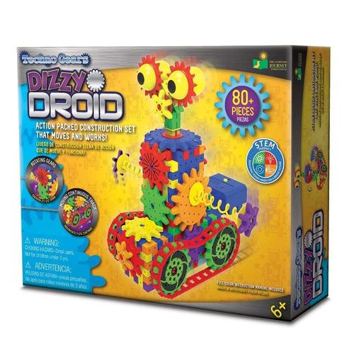 techno gears dizzy droid (tm) kit de construcción