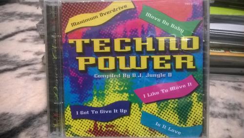 techno power cd recopilación por dj jungle d