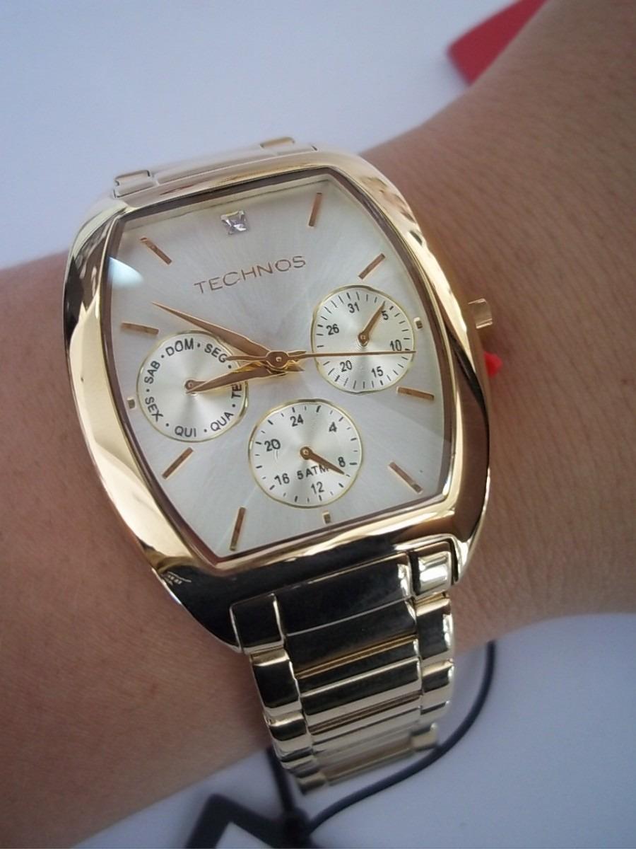 a4d8f6bd8e3 Carregando zoom... relógio technos feminino elegance crystal swarovski ...