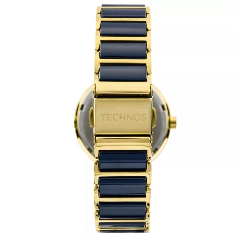 83f398185aafa Relógio Technos Feminino Cerâmica Azul 34mm 2015ce 5a C  Nfe - R ...