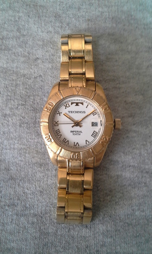 technos imperial gold plated