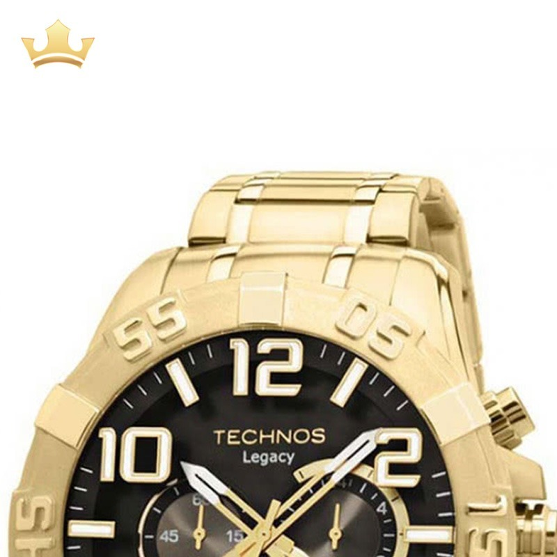 d23b8e6040b62 Relógio Technos Masculino Os20im 4p Com Nf - R  658,00 em Mercado