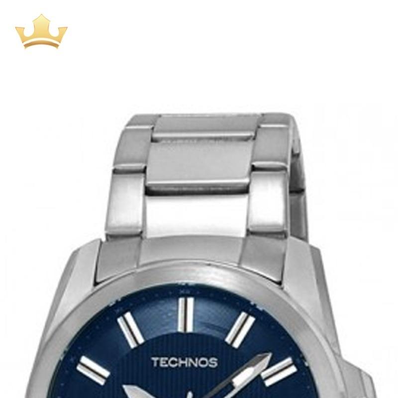 Relógio Technos Masculino 2315ff 1a Com Nf - R  298,00 em Mercado Livre 49015c0d37