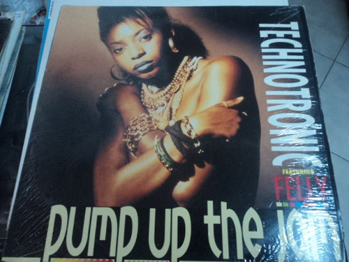 technotronic pump up the jam 33 rpm importado