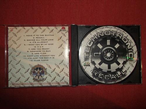 technotronic - recall cd usa ed 1995 mdisk