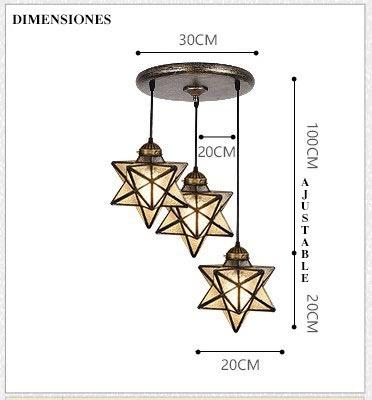 techo colgante lámpara