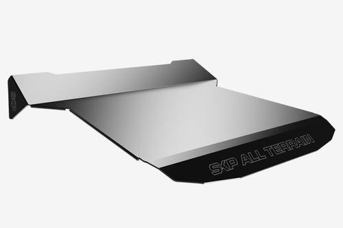 techo de aluminio rzr de 2 personas
