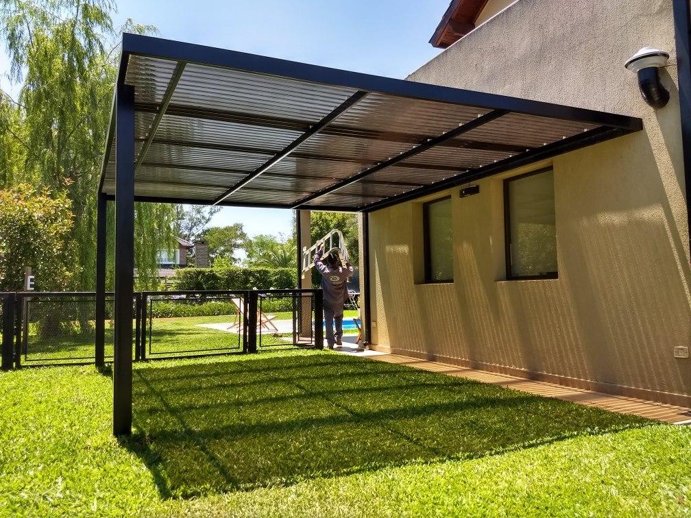 Techos para patios techo with techos para patios trendy - Techo para pergola ...