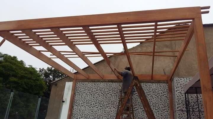 Techo de madera sol y sombra terraza precios exclusivos - Terrazas de madera precios ...
