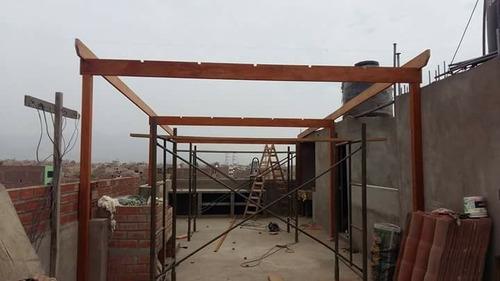techo de madera sol y sombra !terraza! !precios exclusivos!
