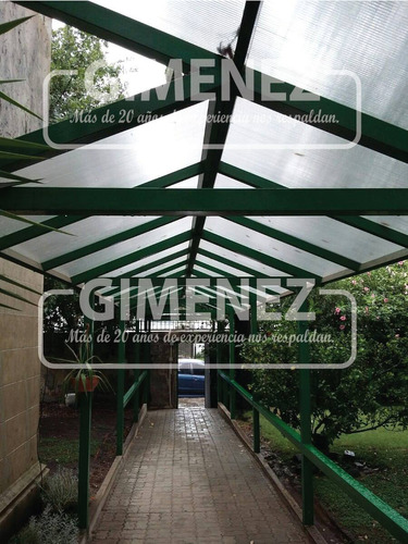 techo de policarbonato - experiencia - herreria gimenez