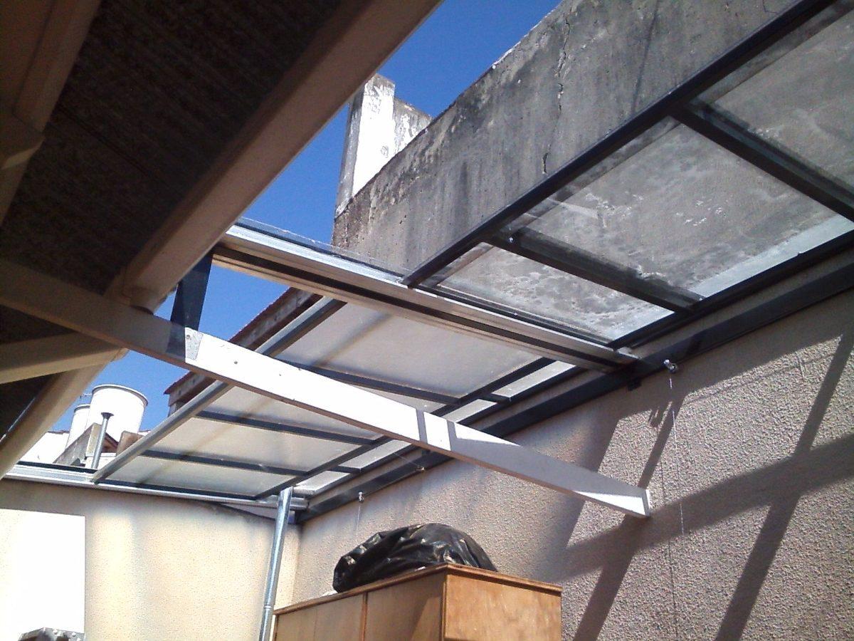 techo fijo-corredizo policarbonato-antigranizo-poliacrilico