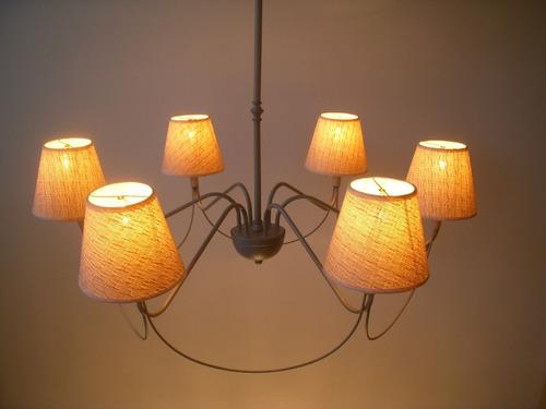 techo iluminación. lampara