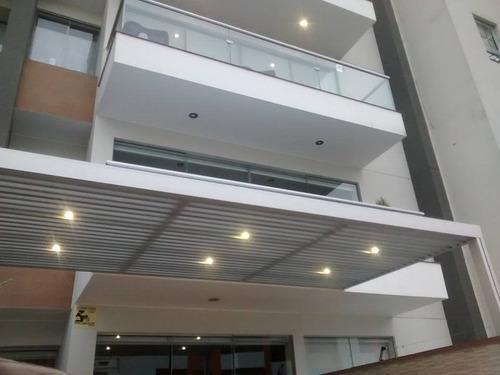 techo policarbonato aluminio sol y sombra