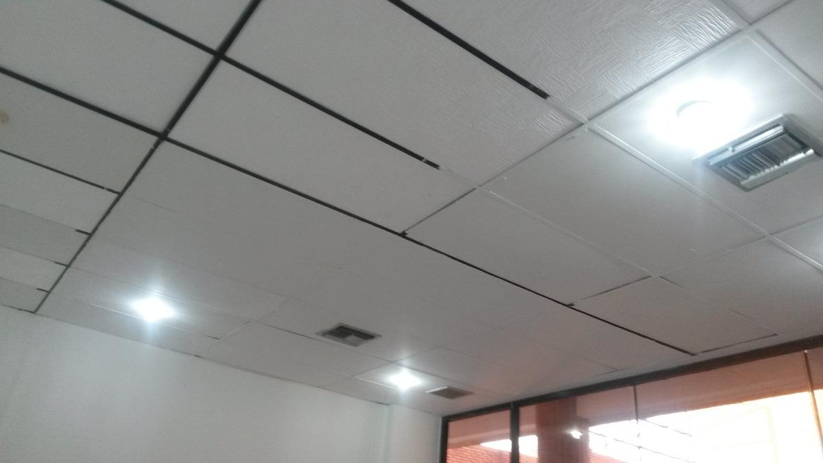 Techo de yeso drywall en la decoracin da excelentes - Focos empotrados techo ...