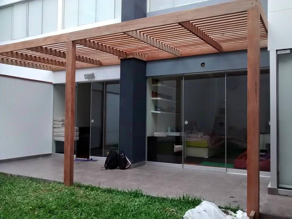 techo sol y sombra madera y acabados en general s 1. Black Bedroom Furniture Sets. Home Design Ideas