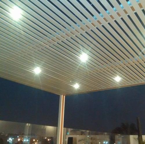 techo sol y sombra  policarbonato