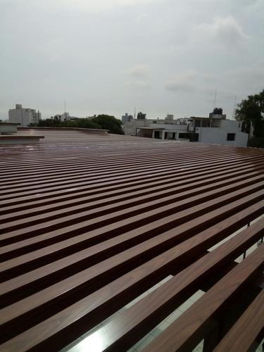 techo sol y sombra , policarbonato