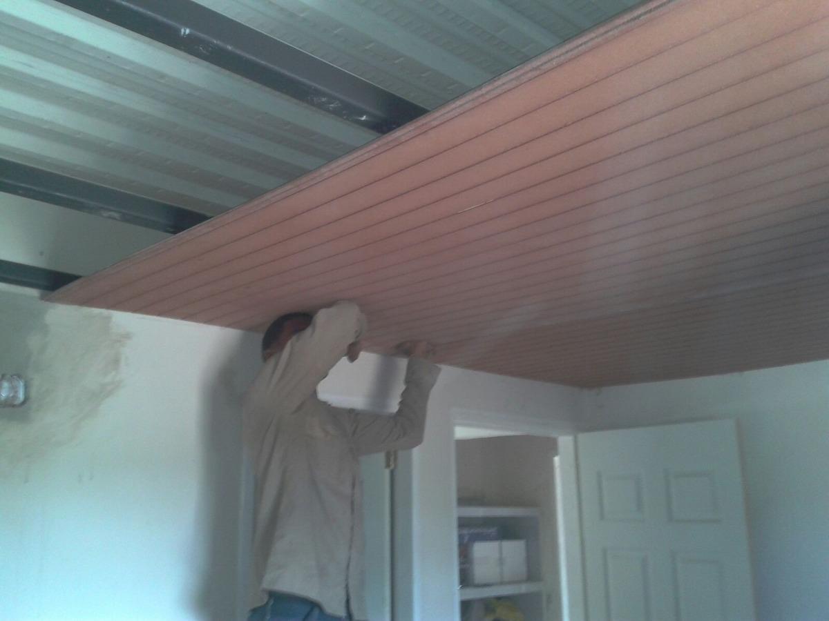 Techofacil 9mm dry wall cubra losacero placa excelente for Laminas para techos interiores