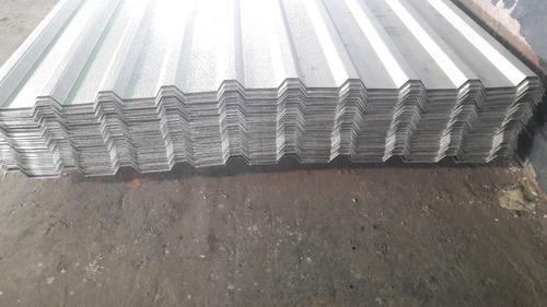 techos aluminio galpones granjas 0,5mm 6 mts 9 verdes metro