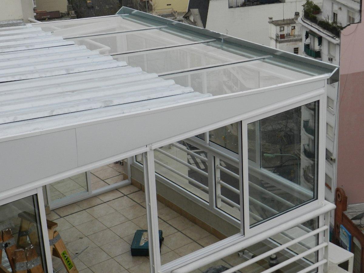 Techos corredizos cerramientos aleros toldos plegadizas for Cobertizo de jardin de techo plano de pvc