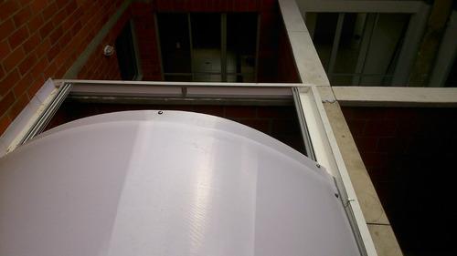 techos corredizos en aluminio