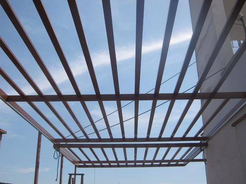 techos corredizos , fijos , curvos - policarbonato