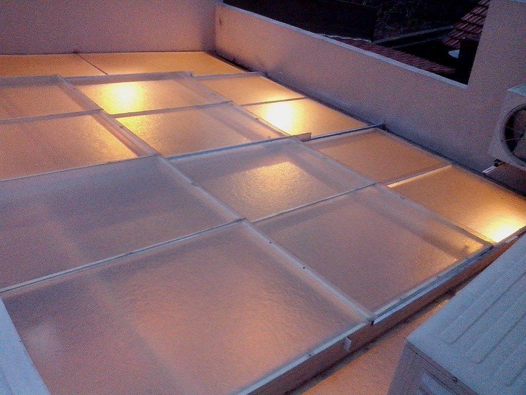 Techo corredizo para patio cool deck corredizo pileta - Lonas para techos ...
