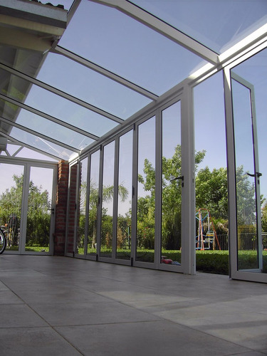 techos corredizos-policarbonato vidrio laminado poliacrilico