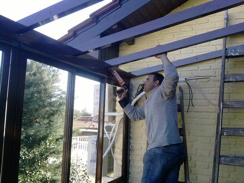 techos corredizos y fijos con vidrio o policarbonato