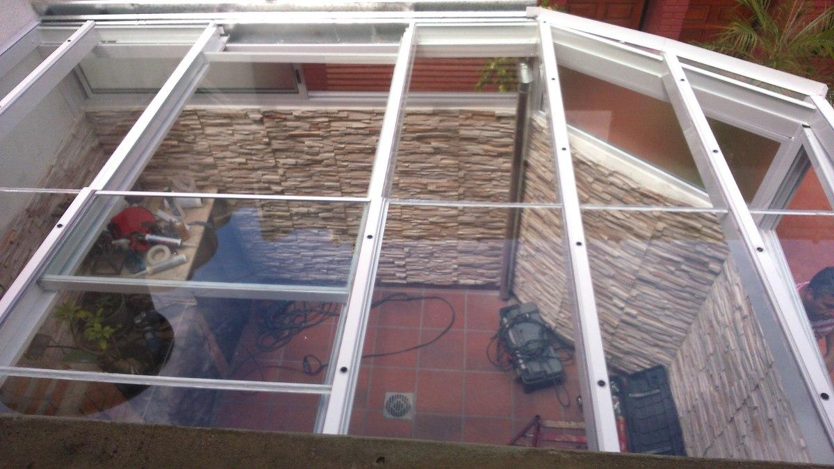 techos corredizos y fijos con vidrio o policarbonato whatsap - en